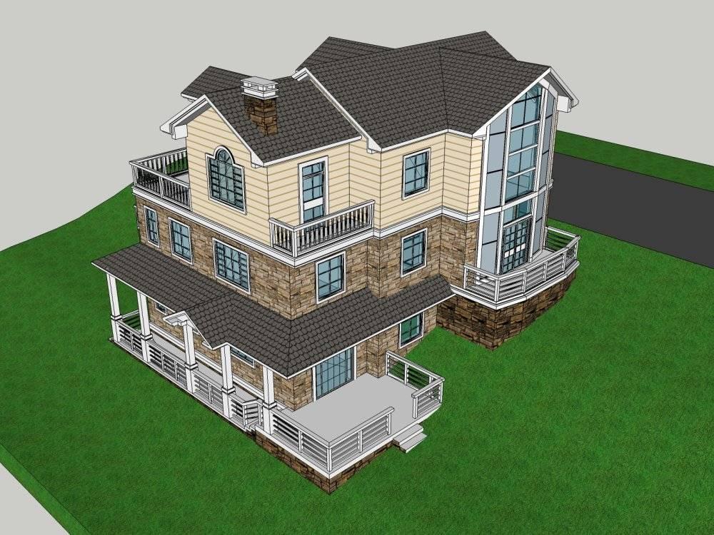 私家别墅 设计