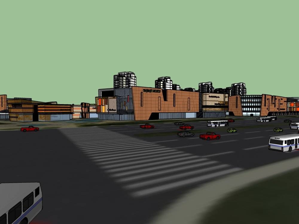 文化 建筑 公建
