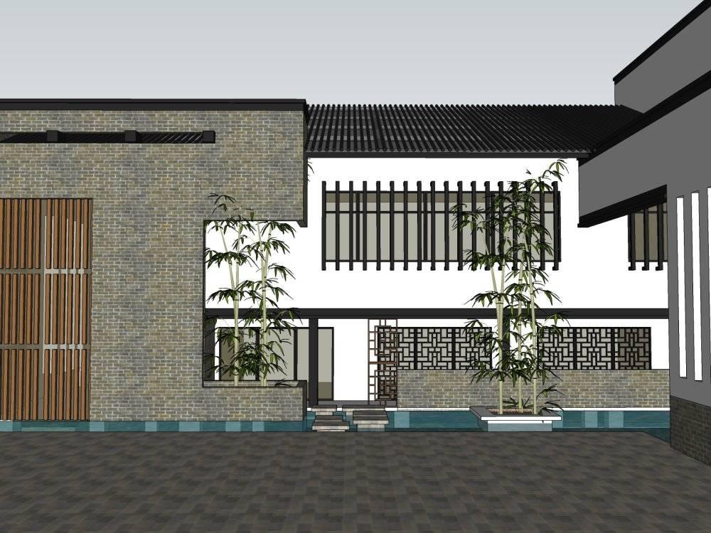 中式 建筑群