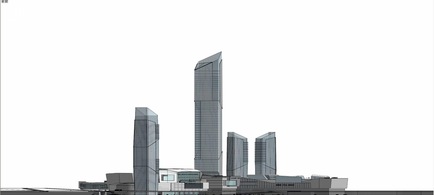 武汉江城大道城市综合体