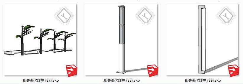 Dcsu现代景观街灯柱