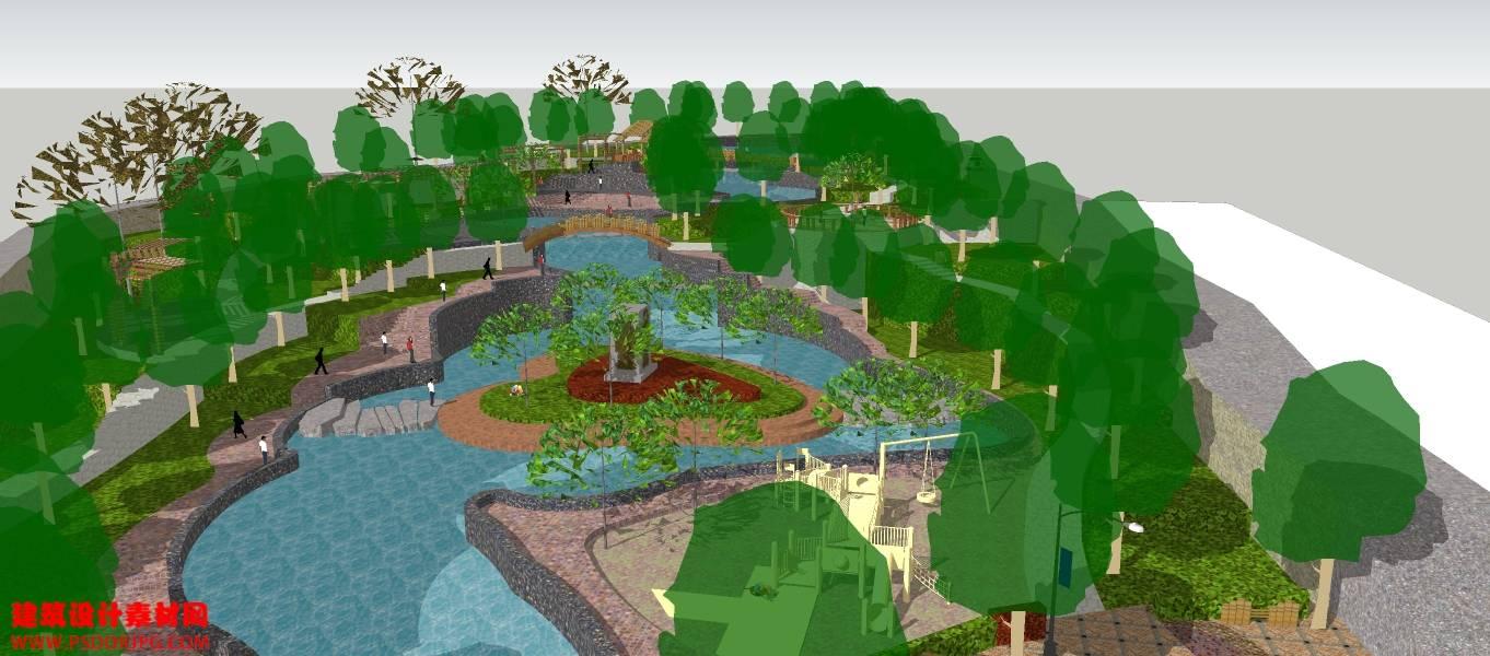 景观 公园 广场1-44