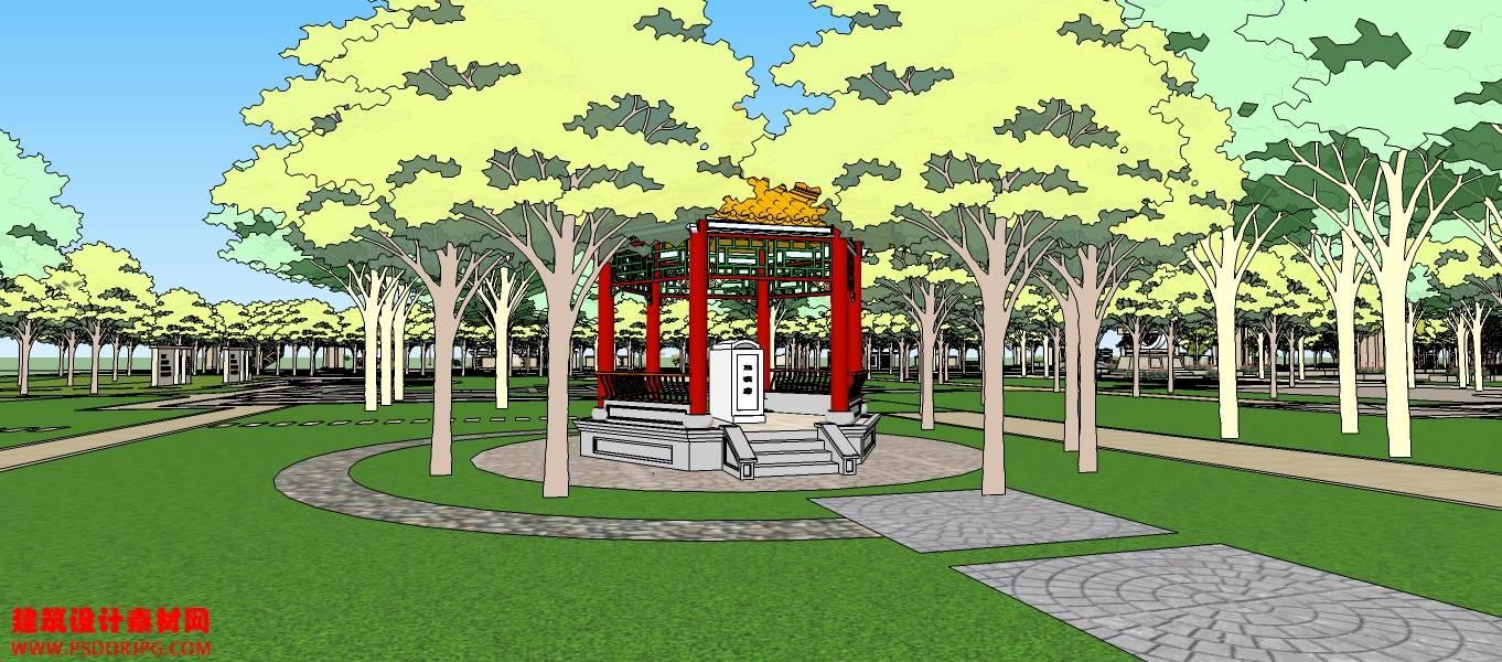 景观 公园 广场1-49