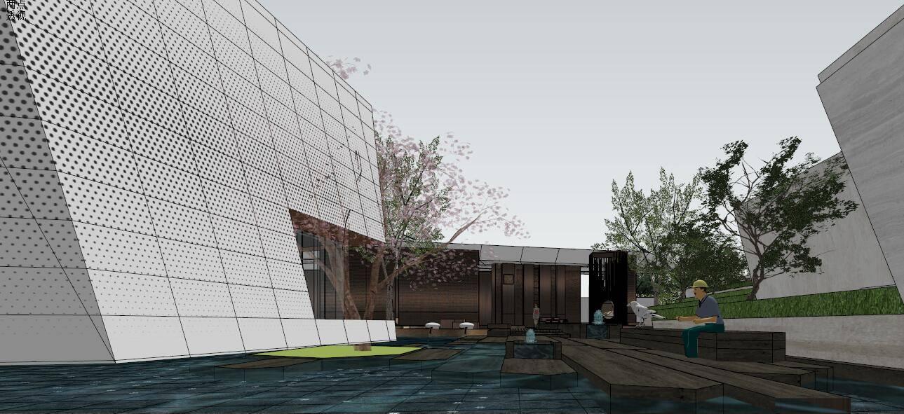 龙湖-昱湖壹号展示区及景观设计