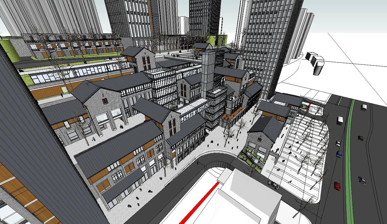 新中式建筑群