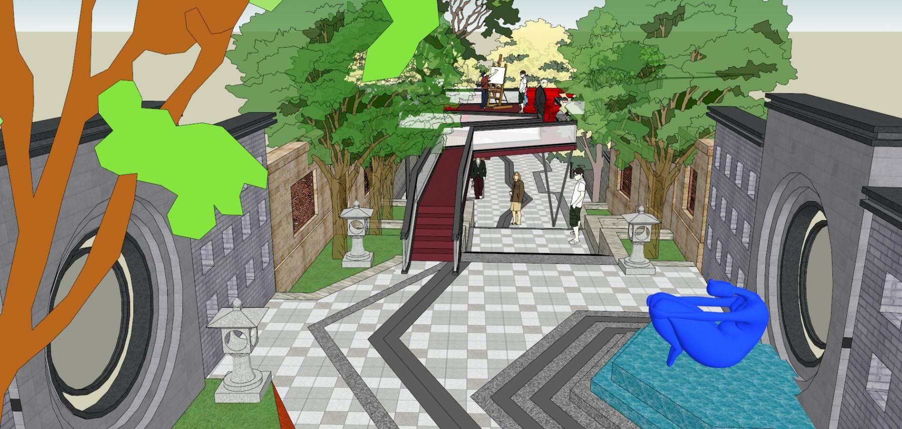 文化空巷 中式景观