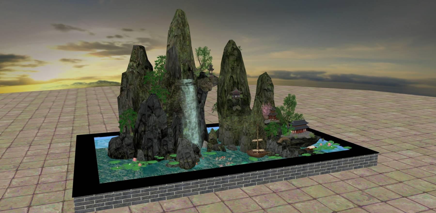 景观石16
