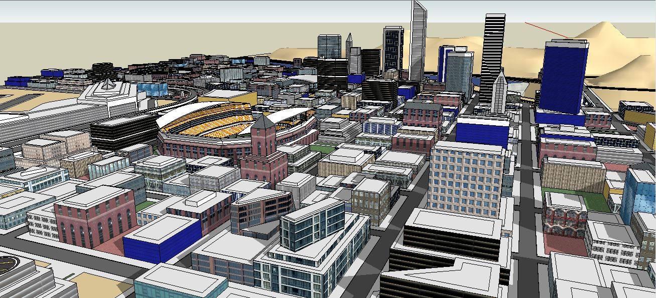 城市规划 模型1