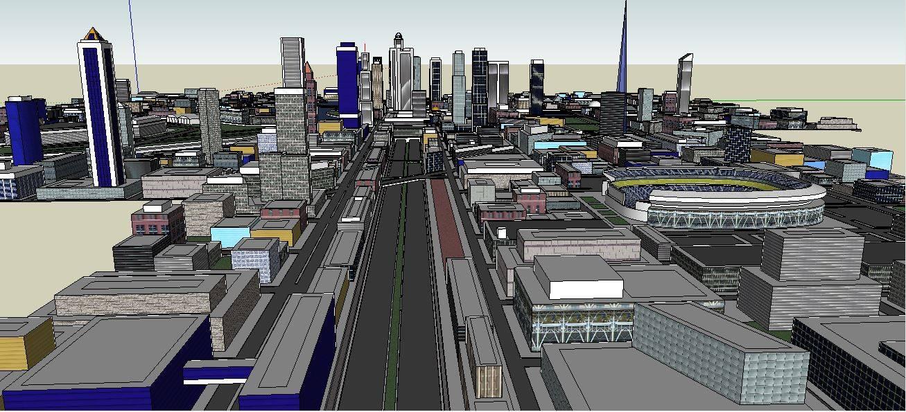 城市规划 模型2