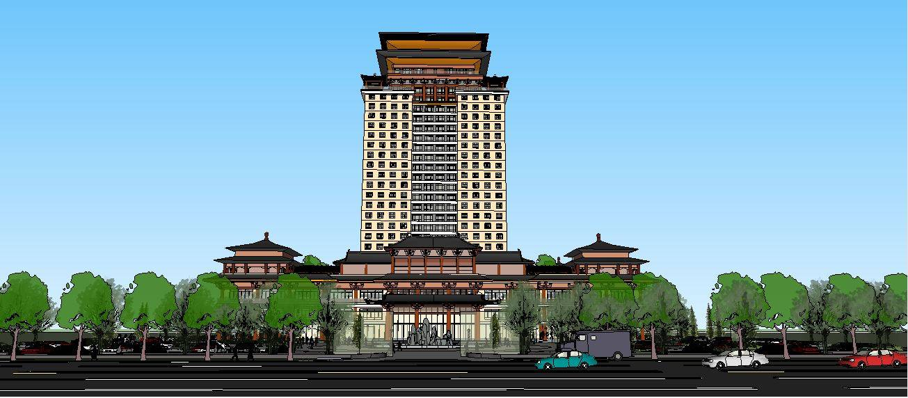 汉唐风酒店方案设计