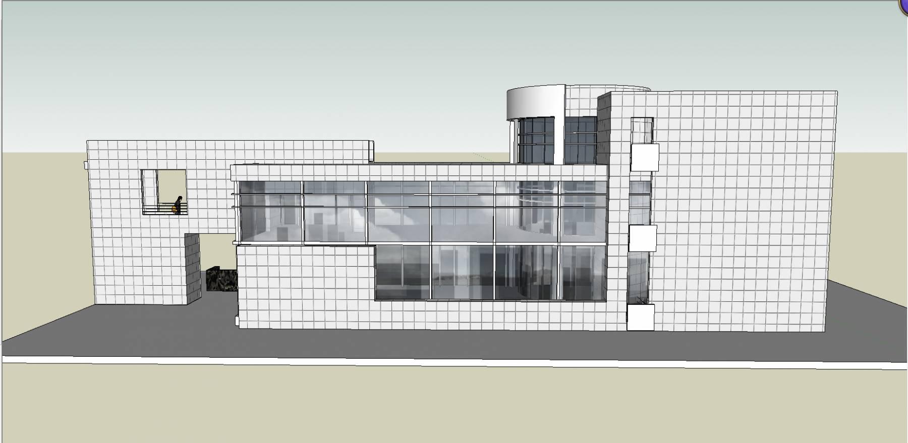 大学建筑 教学楼 图书馆 电影院 剧场 音乐厅2例