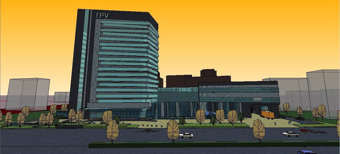 TPV冠捷总部方案