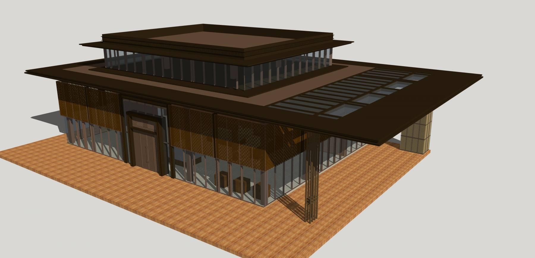 中式别墅 新亚洲风格别墅