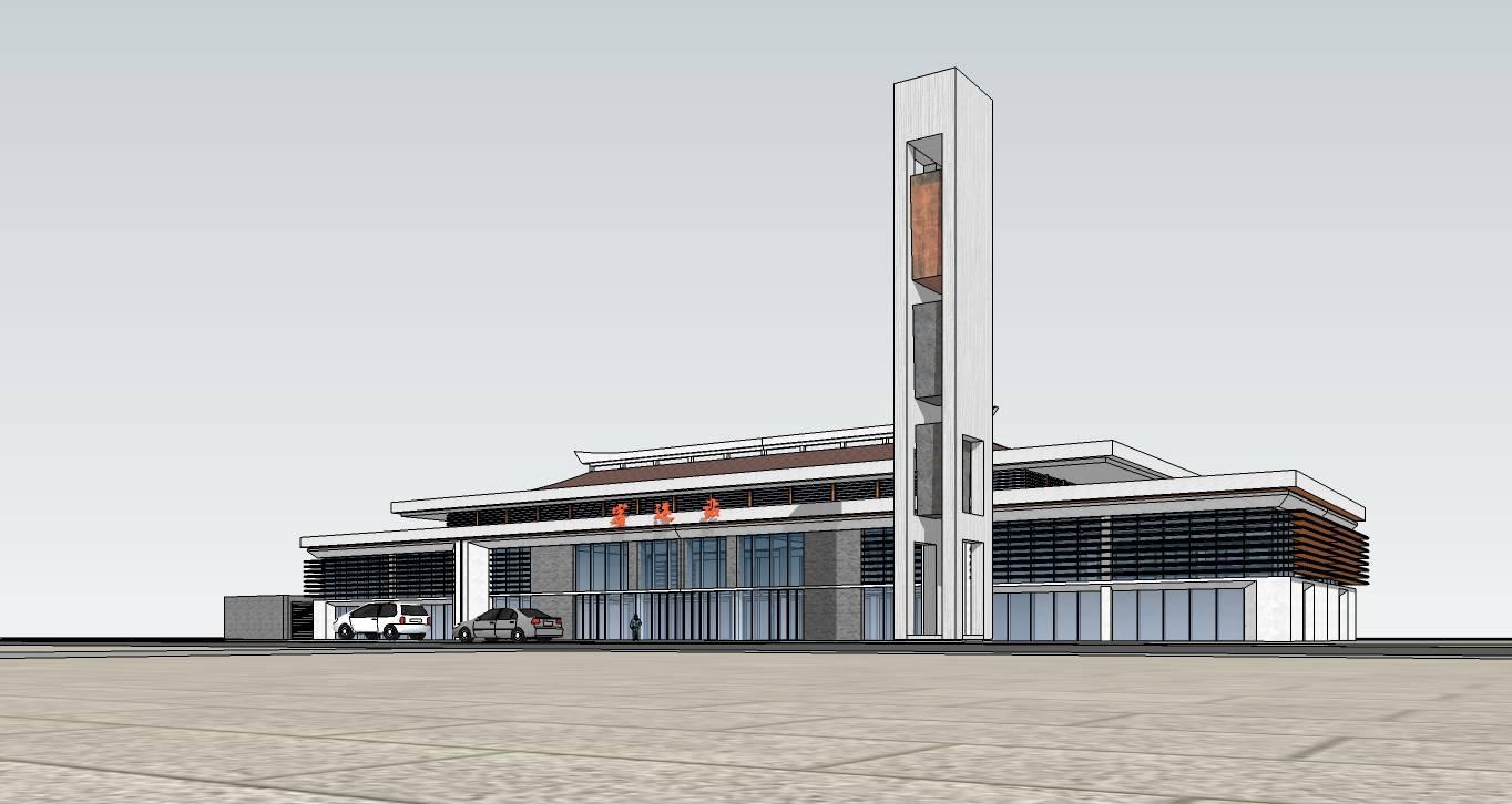 小型汽车站客运站