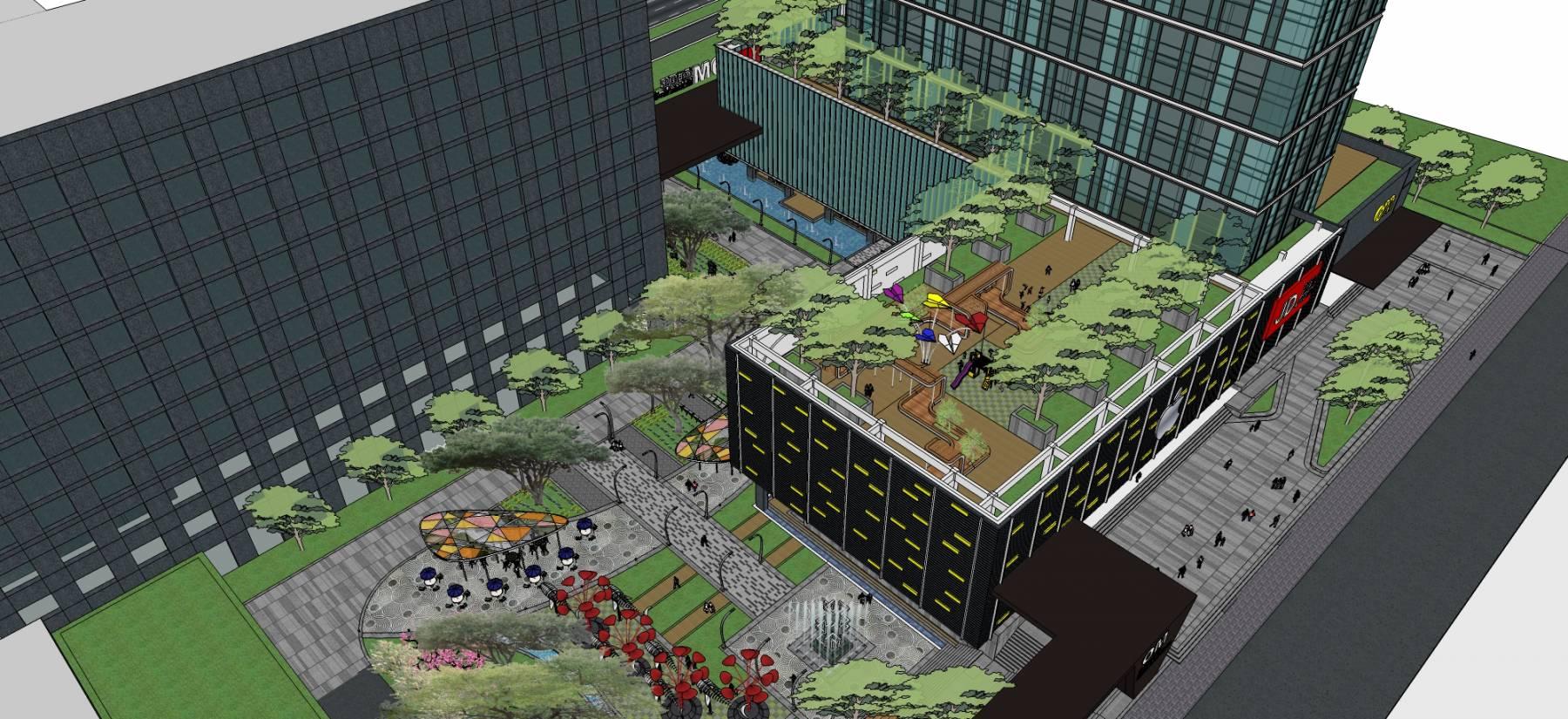 高层办公楼永明大厦方案