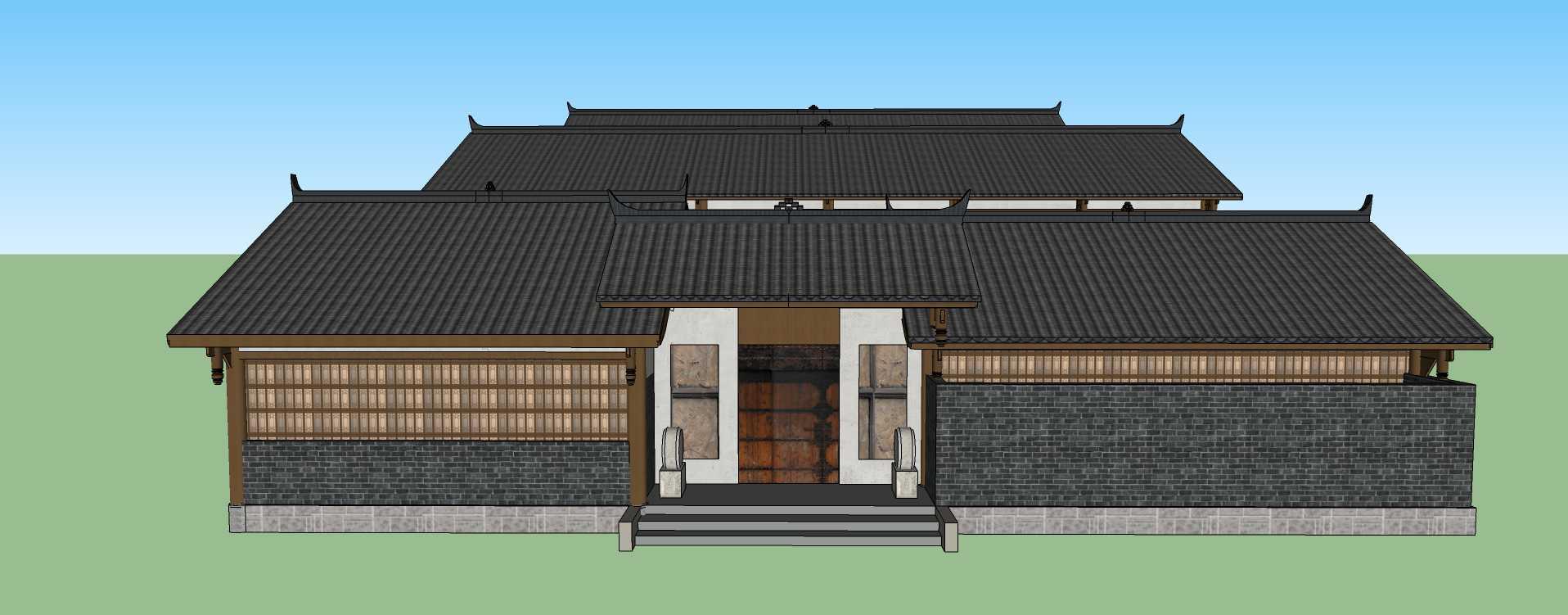 中式古建商业楼