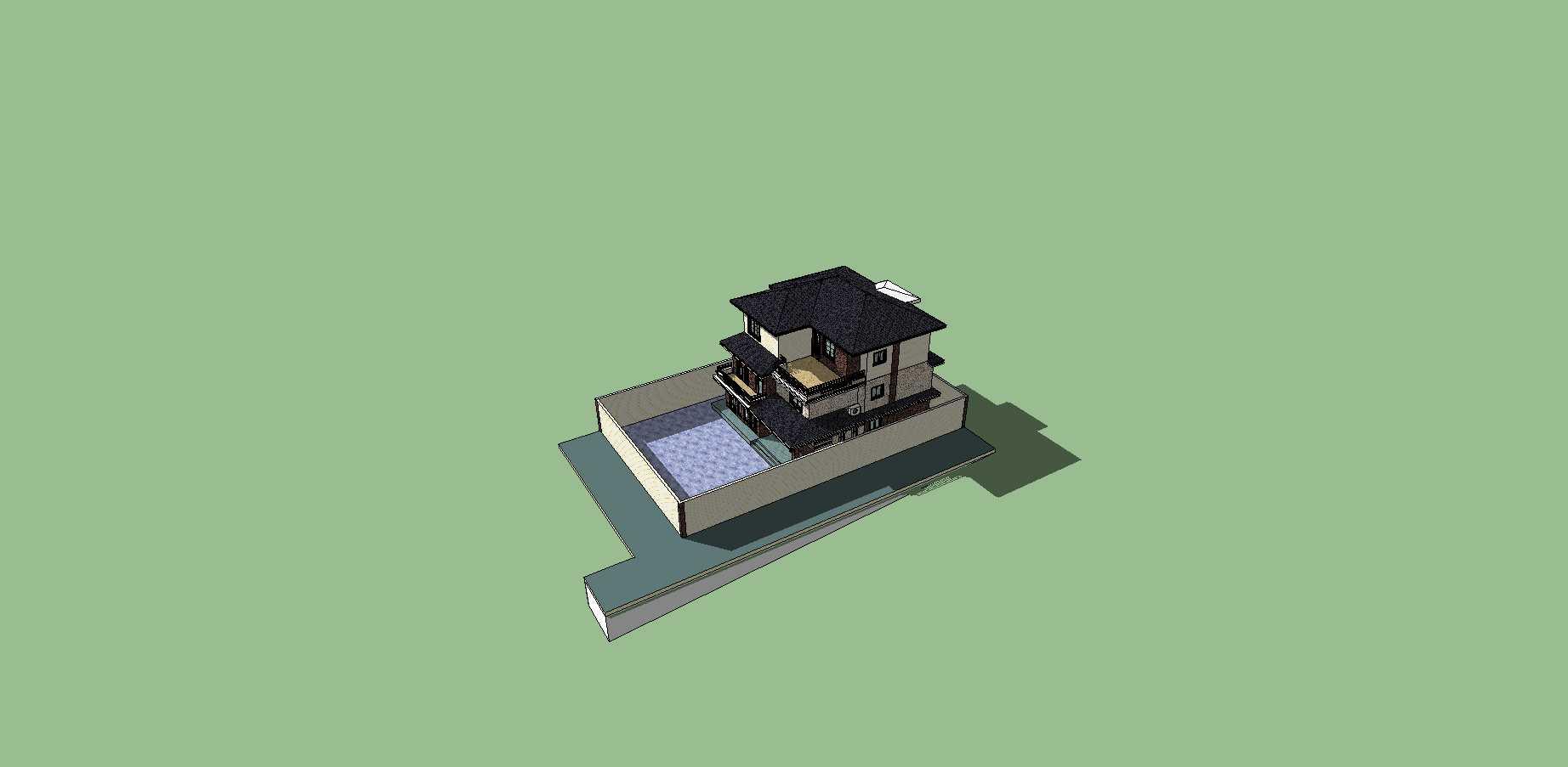 草原风格独栋别墅