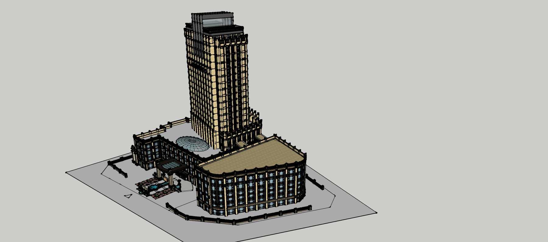 新古典风格商业酒店