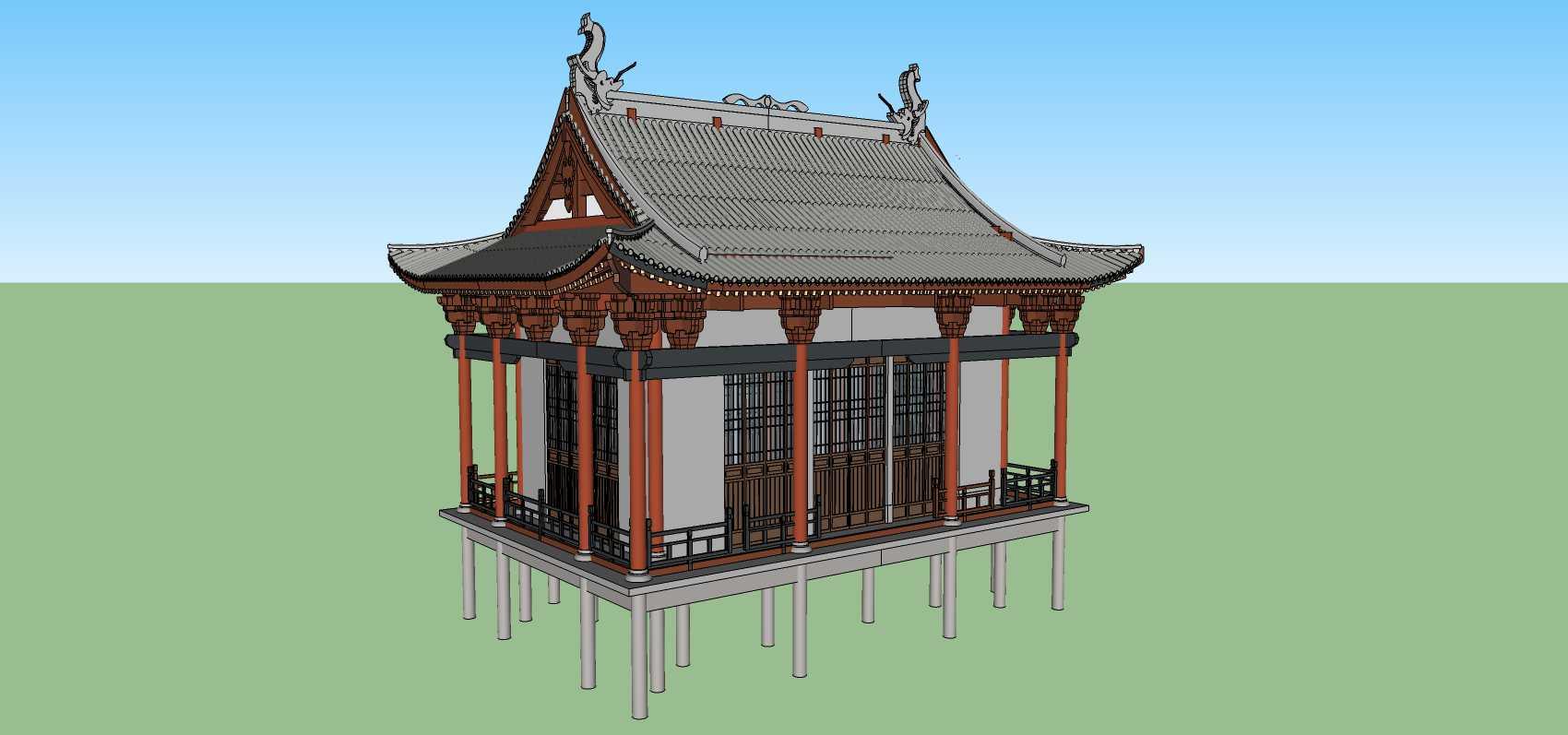 中式古建阁楼