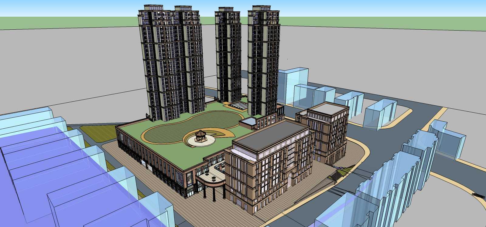龙湖欧式商业住宅小区