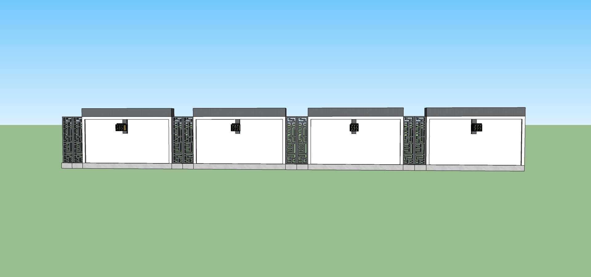 建筑构件围墙