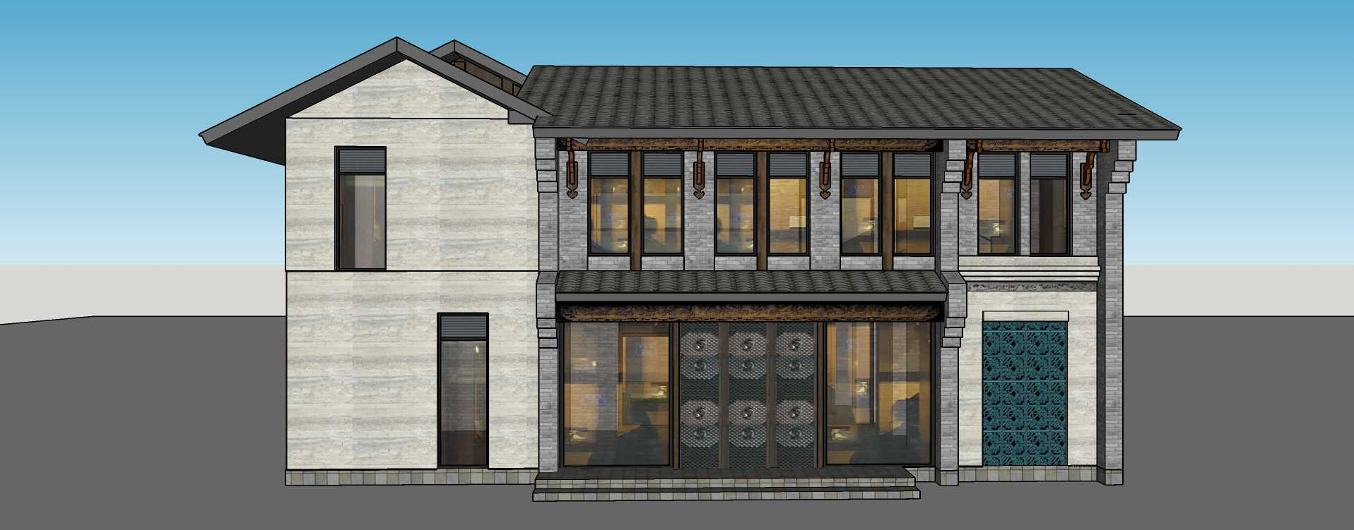 中式獨棟別墅